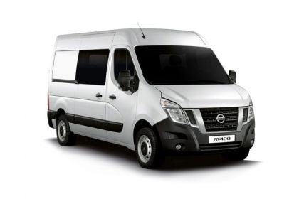 Nissan NV400 Crew Van L2 35 FWD 2.3 dCi FWD 150PS Tekna Crew Van Medium Roof Auto [Start Stop]