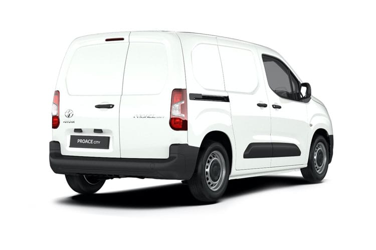 Toyota PROACE CITY Long 1.5  BlueHDi FWD 100PS Icon Van Manual [Start Stop] [Safety Sense] back view