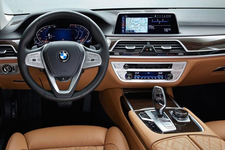 BMW 7 Series 745 Saloon 3.0 e PHEV 12kWh 394PS M Sport 4Dr Auto [Start Stop] inside view
