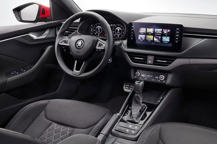 Skoda Kamiq SUV 1.0 TSi 110PS SE 5Dr DSG [Start Stop] inside view